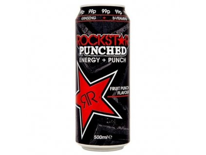 Rockstar UK Punched Fruit Punch 500ml