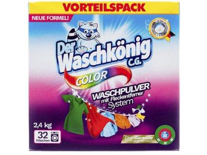 Waschkönig Color na barevné prádlo 32 dávek 2,4kg