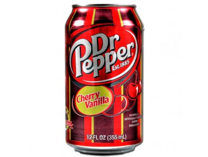 Dr Pepper USA Cherry Vanilla 355ml