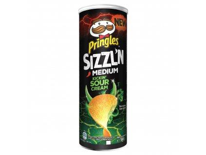 Pringles Sizzl'n Kickin Sour Cream 180g