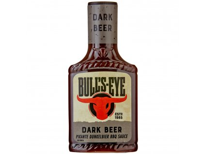 Bull's Eye Dark Beer BBQ Sauce 360g