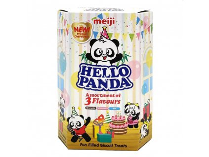 Meiji Hello Assortment Of 3 Flavours 260g