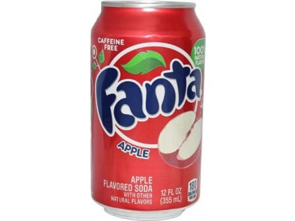 Fanta USA Apple 355ml
