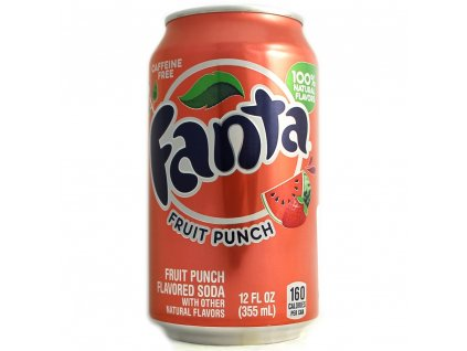 Fanta USA Fruit Punch 355ml