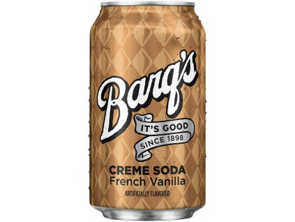 Barq's French Vanilla Cream Soda 355ml