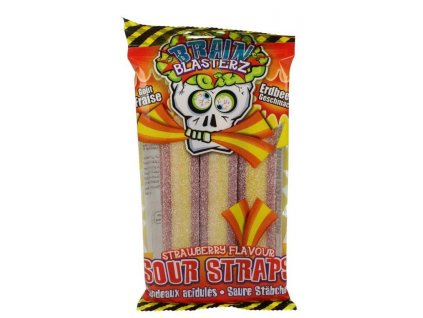 Brain Blasterz Sour Straps Strawberry 150g