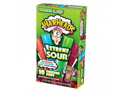 Warheads Freezer Bars 283g