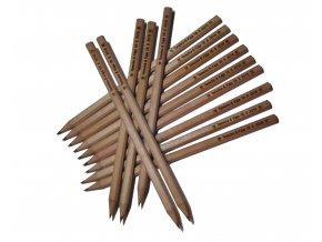 Dlouhé tužky hranaté - 10ks