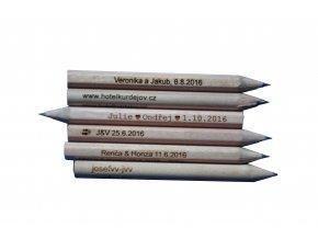 Krátke tužky kulaté - 10ks