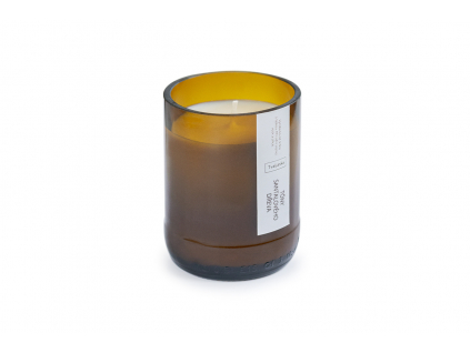 Přírodní svíčka a vůně Tóny santálového dřeva