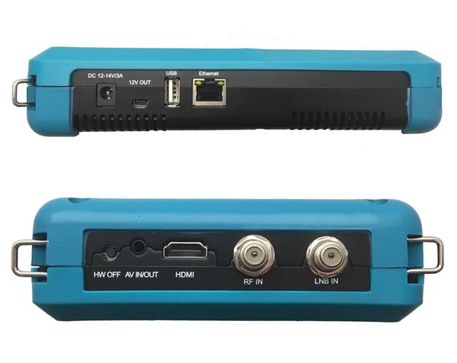 Dreamsky TSC-4k TRIO konektory