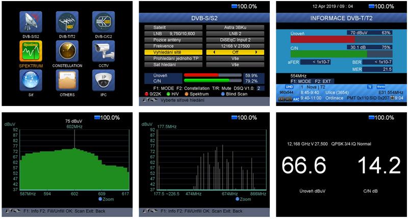Dreamsky TSC-4K TRIO OSD MENU