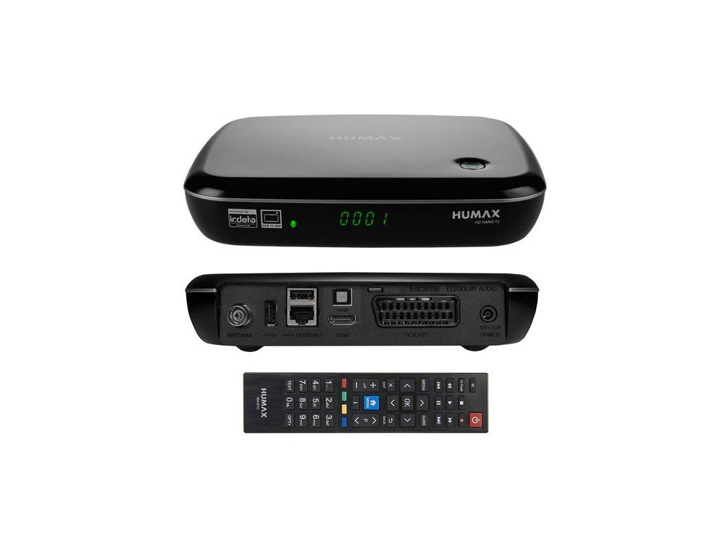 Humax HD NANO T2 (HEVC, HbbTV)