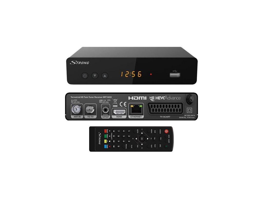 Strong SRT8222 DVB-T2 TWIN tuner