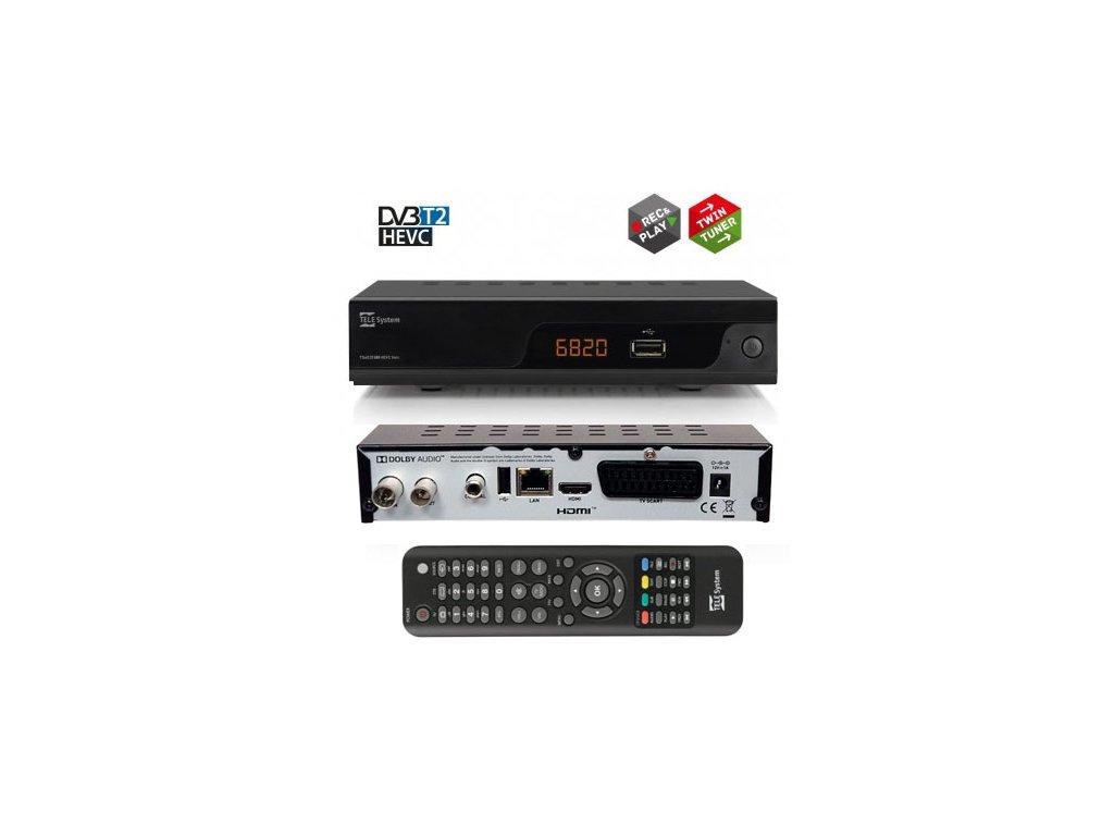 TeleSystem TS6820 HEVC Twin tuner