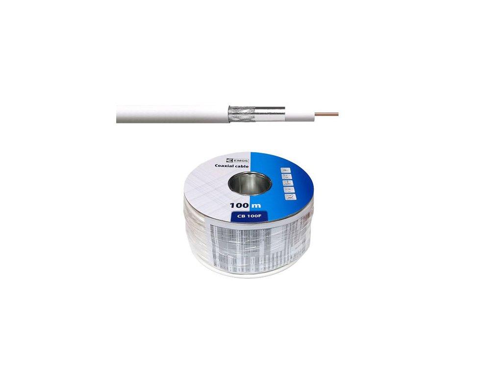 Koaxiální kabel CB 100 F (cena za 1 m)