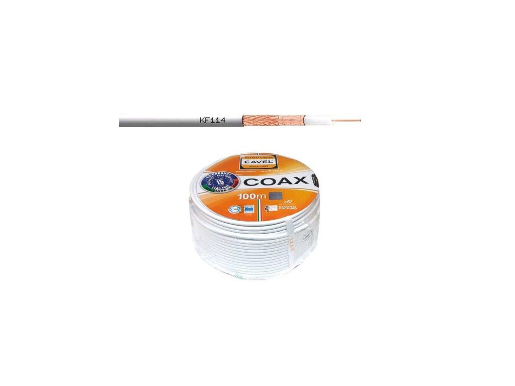 Koaxiální kabel CAVEL KF114 (cena za 1 m)