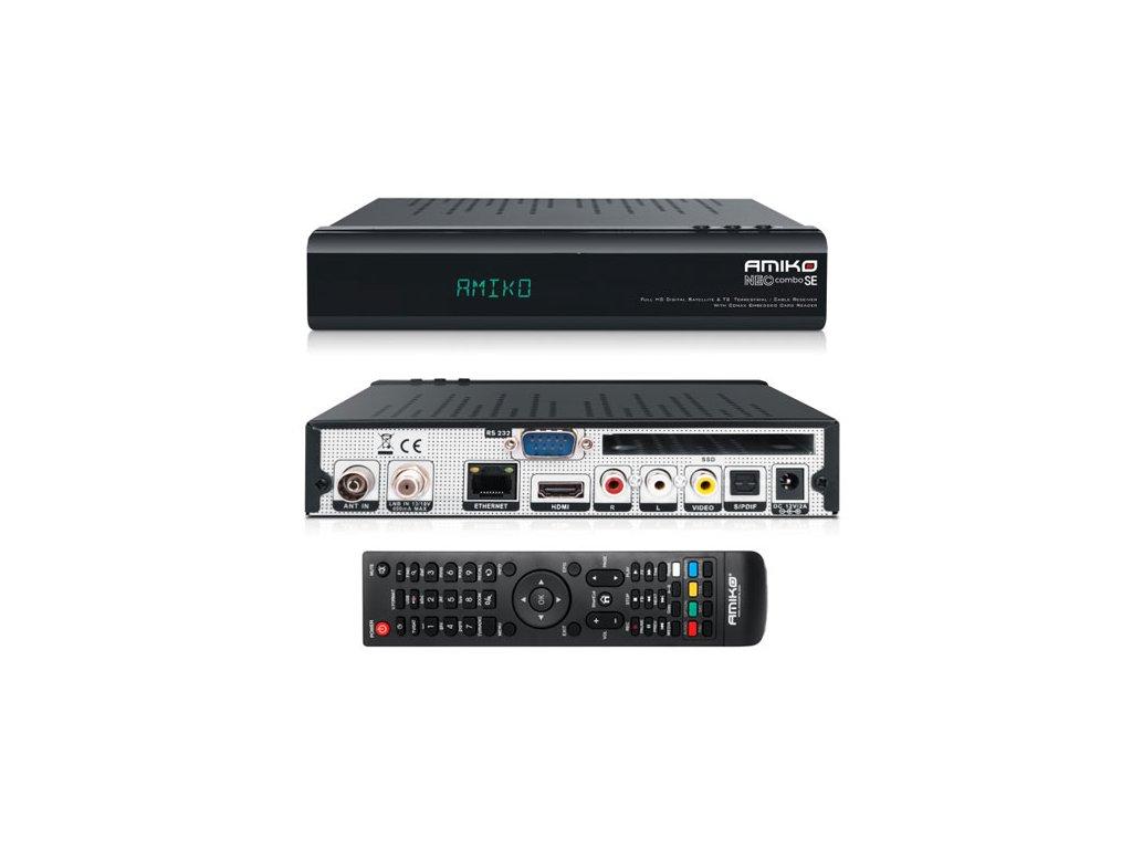 AMIKO NEO Combo SE (DVB-S2/T2/C HEVC)