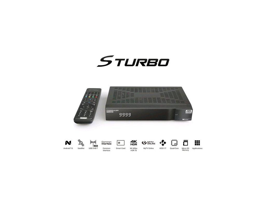 Formuler S-TURBO (Android)  + Konfigurace linuxového přijímače ZDARMA !