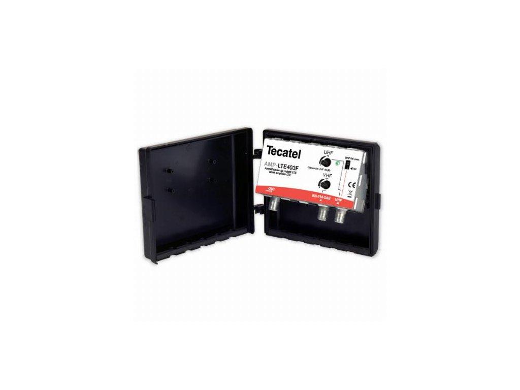 TECATEL MAX403LTE - 40dB, UHF+VHF - venkovní