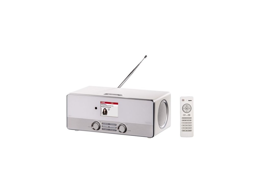 Hama DIR3110 DAB+ internetové rádio, bílé