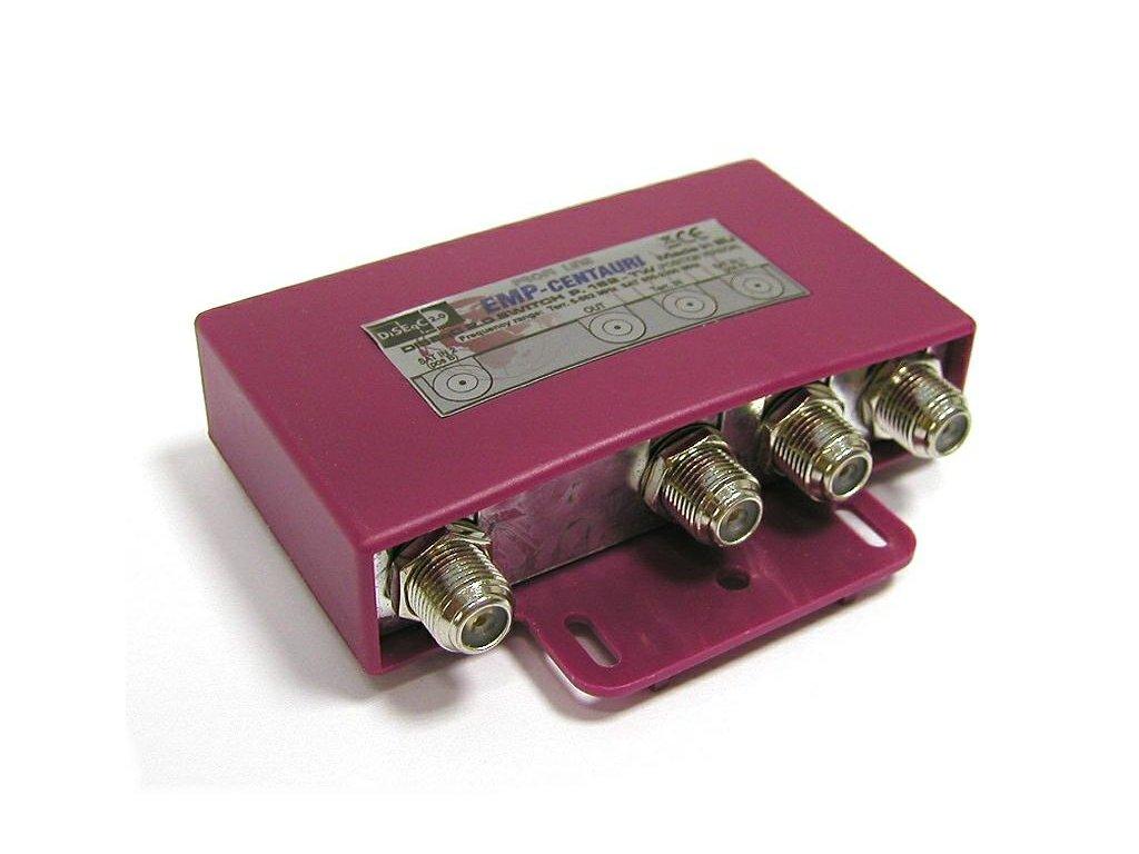 DiSEqC přepínač 2/1+TV - EMP P162TW