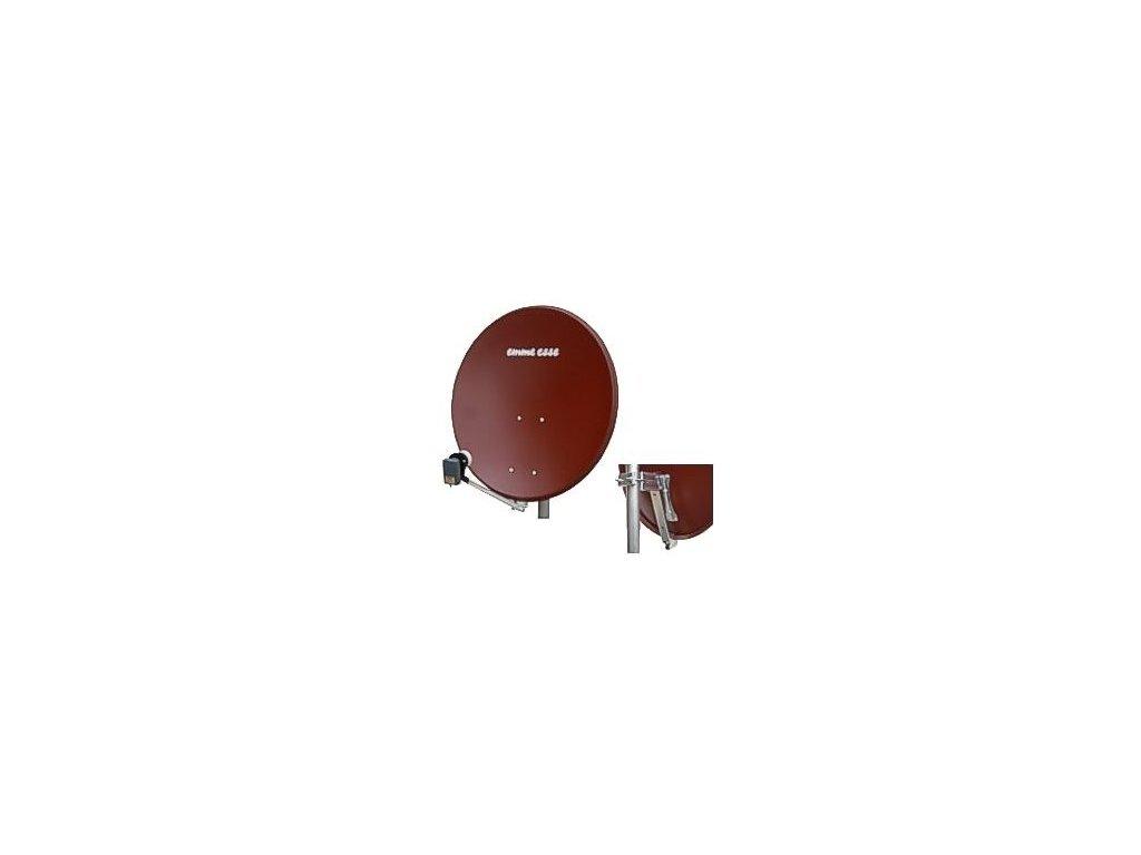 Satelitní anténa 73x80 cm Emme Esse FE (červená)