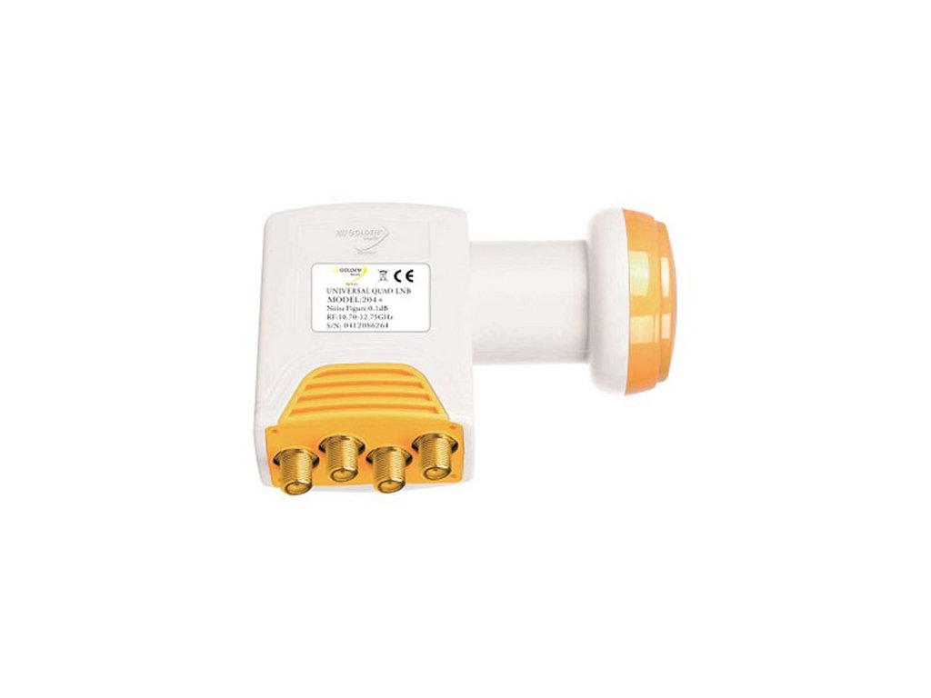 LNB Golden Media GI-204+ QUAD 0,1 dB