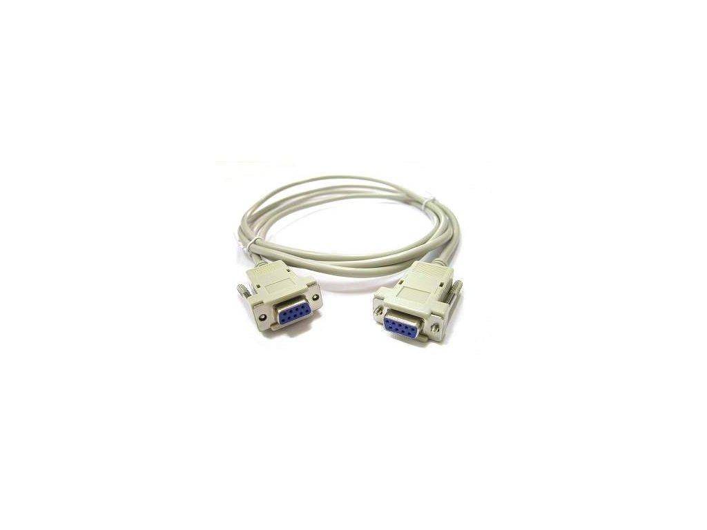 Kabel RS232 - křížený (samice - samice)