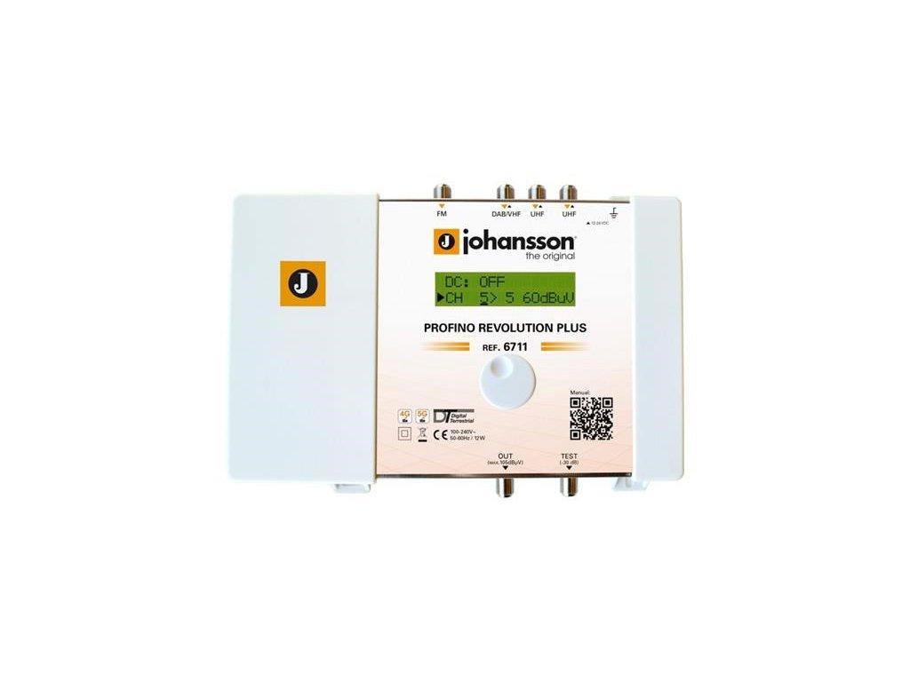 antenni zesilovac programovatelny johansson 6711 profino revolution plus