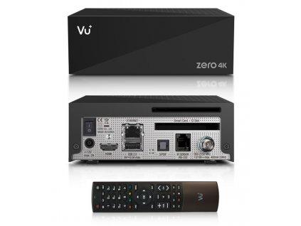 Vu+ ZERO 4K (1x DVB-S2X Multistream)  + Konfigurace linuxového přijímače ZDARMA !