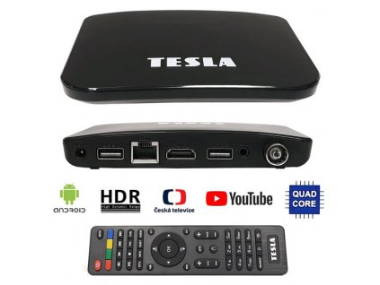 TESLA TEH-500 PLUS DVB-T2 Android