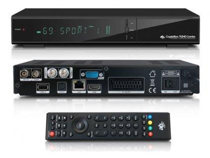 AB CryptoBox 752HD Combo DVB-T2/S2/C