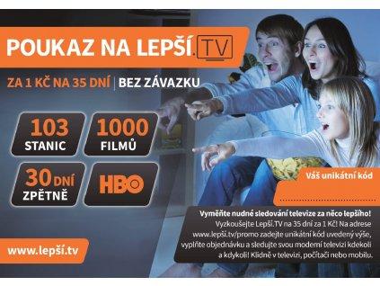 lepsi tv poukaz vcetne hbo za 399kc na 35 dni ien271044