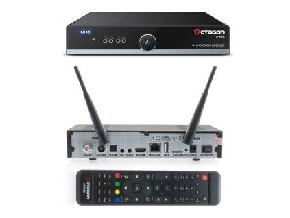 Octagon SF8008 UHD Combo + 1TB HDD  + Konfigurace linuxového přijímače ZDARMA !