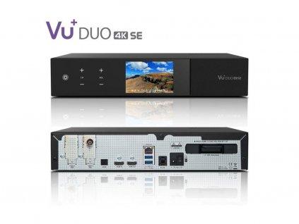 VU+ DUO 4K SE (1x dual DVB-T2 MTSIF)  + Konfigurace linuxového přijímače ZDARMA !