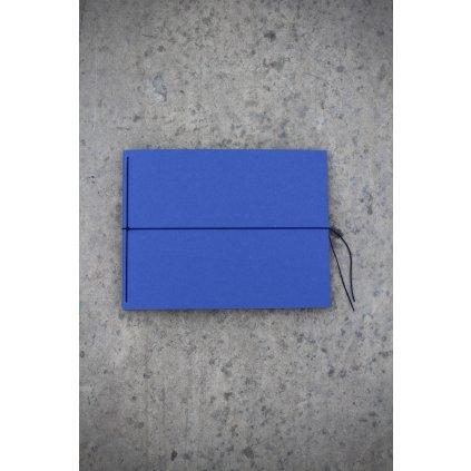 Fotoalbum kniha modrá