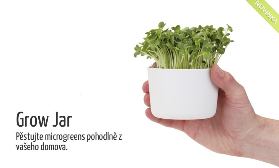 Grow Jar - kelímek na pěstování microgreens