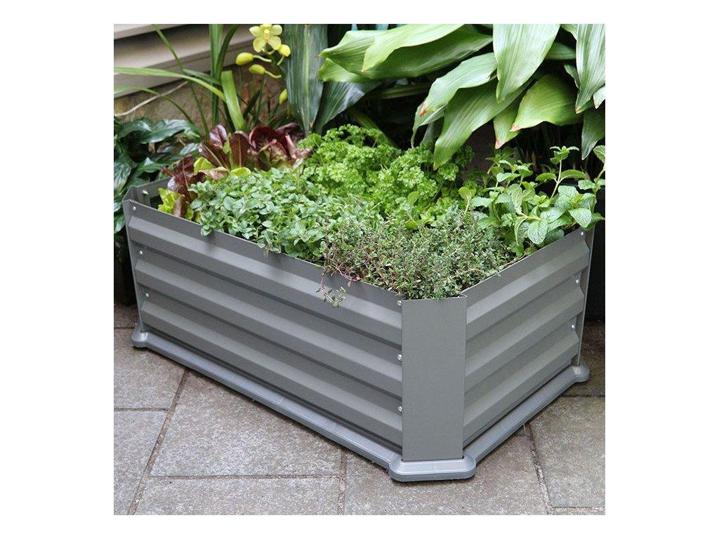 """Bio Green - vyvýšený záhon z pozinkované oceli """"MAINAU"""""""