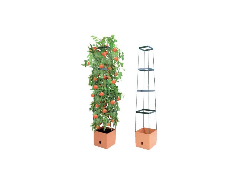 Bio Green - samozavlažovací květináč MAXITOM - terracotta
