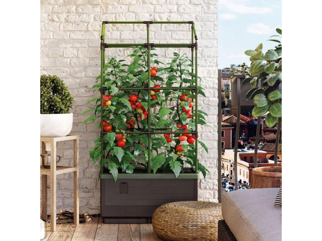 Bio Green - samozavlažovací květináč CITYJUNGLE TRELLIS