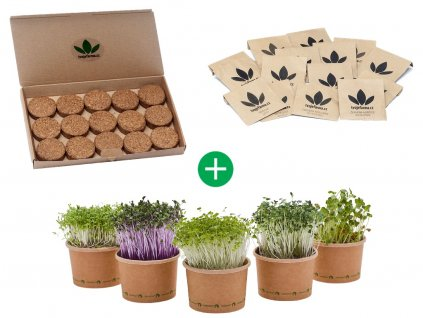 microgreens pack balicek pro pestovani microgreens