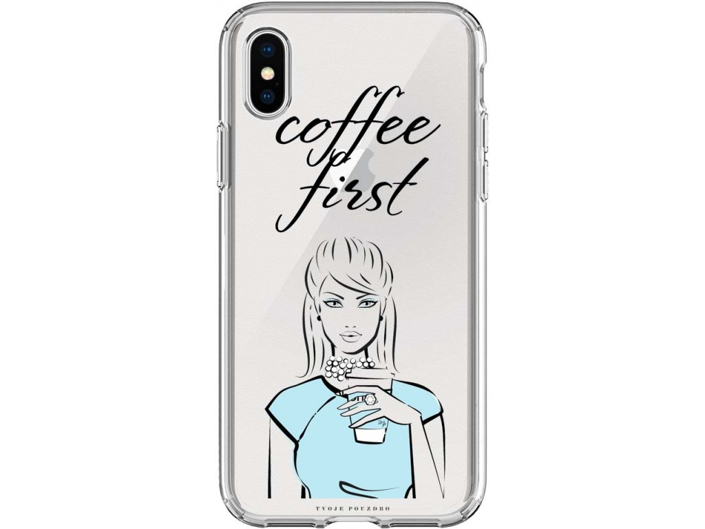 Pouzdro na iPhone XS Coffelover