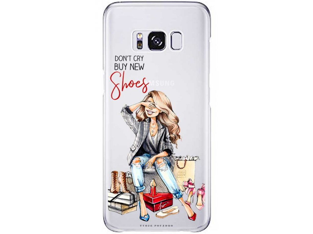 Kryt na Samsung S8 shoes blond