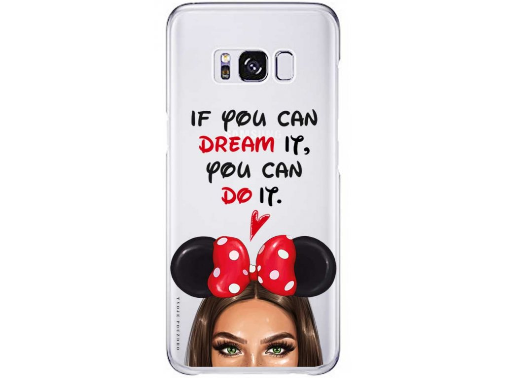 Kryt na Samsung S8 Disney Girl green