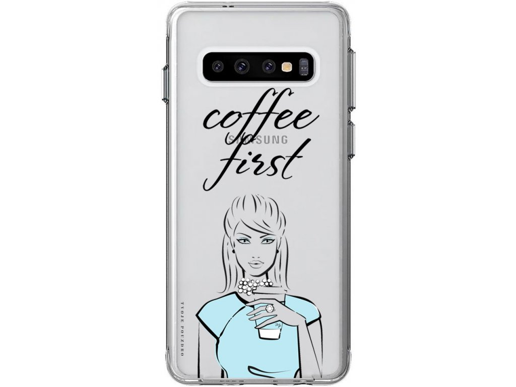 Obal na Samsung S10 coffee first