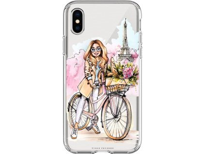 Pouzdro na iPhone X Bike blond
