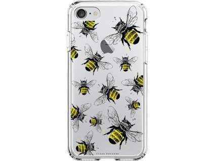 Pruzny kryt na iPhone 8 bees