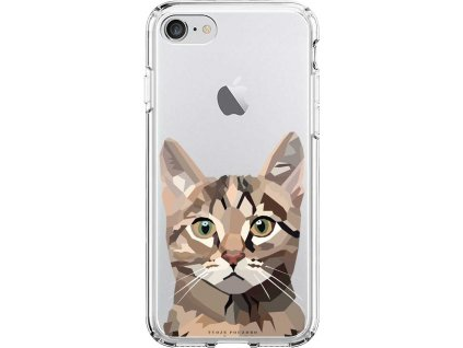 Pruzny kryt na iPhone 8 cat