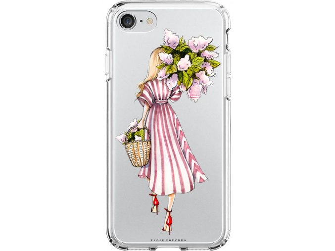 Obal na iPhone 8 flower girl blond